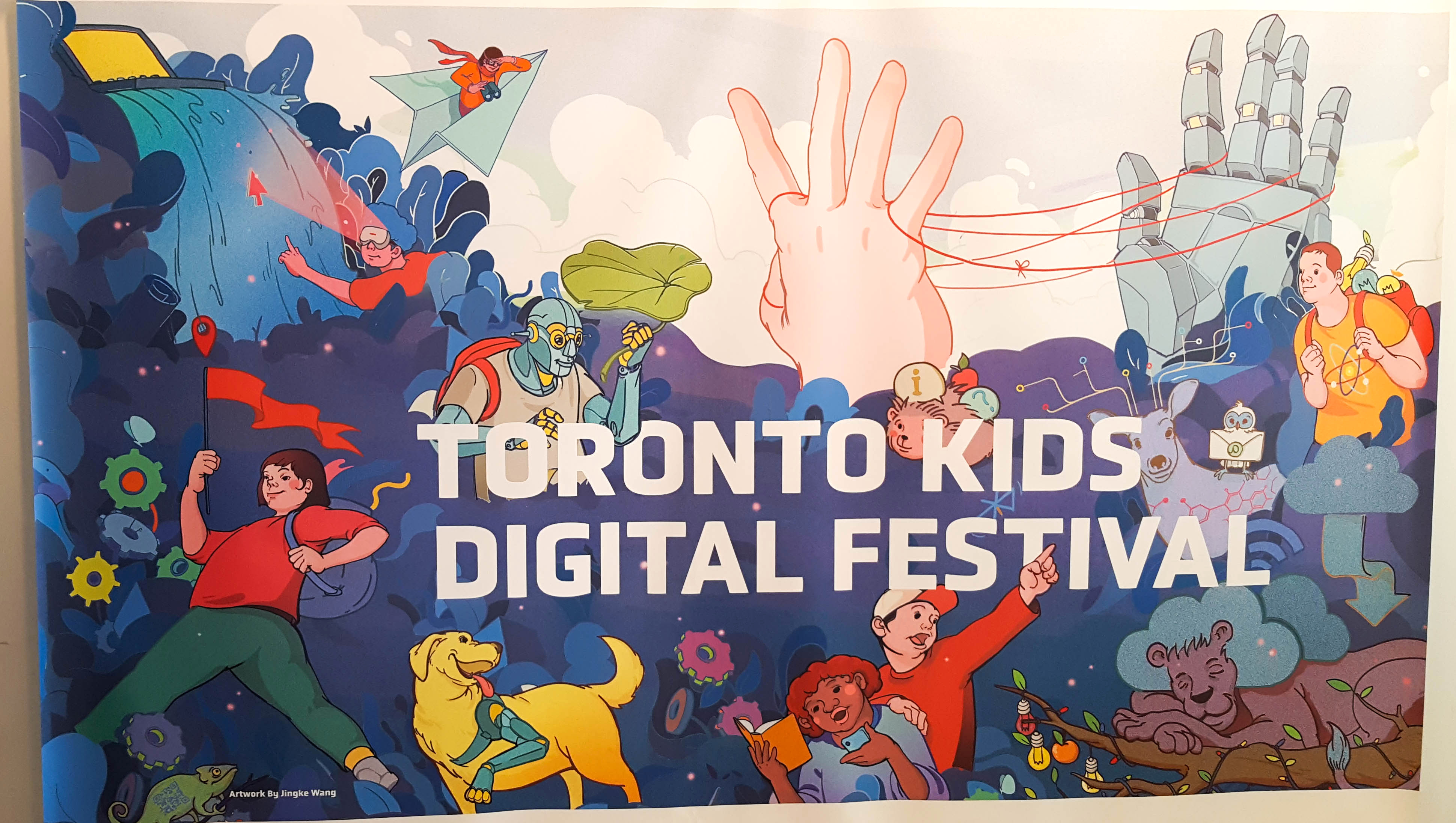 Spacebox at the Toronto Kids Digital Festival